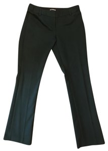 Express Columnist Petite Green Stretchy Work Trouser Pants Hunter Green