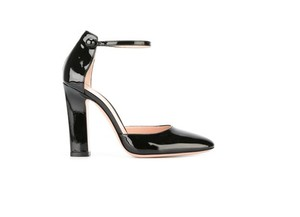 Gianvito Rossi Mary Janes Black Mules