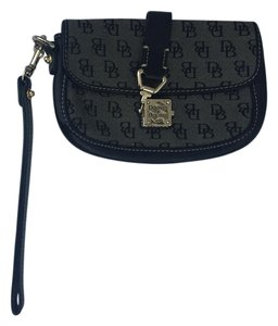 Dooney & Bourke Dooney and Bourke Black Monogram Wristlet