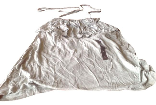 Banana Republic New With Tags White Sage green,light Halter Top