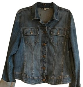 CAbi blue Womens Jean Jacket