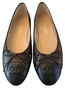 Chanel Flat Brown/black Flats