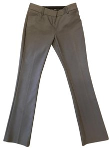 Express Columnist Petite Trouser Pants Gray