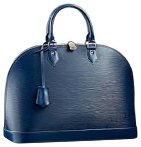 Louis Vuitton Satchel in indigo or navy