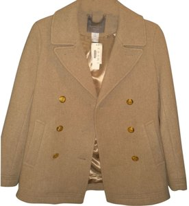 J.Crew Gold Buttons Pea Coat