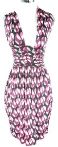 Missoni short dress Pink and Black on Tradesy