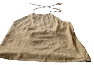 The Limited Biege Halter Top