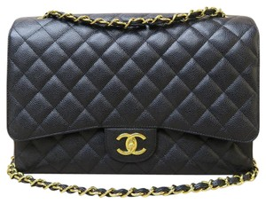 Chanel Maxi Double Flap Classic Shoulder Bag