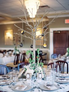 Rustic Jute Twine Tree Centerpiece (8 Available)