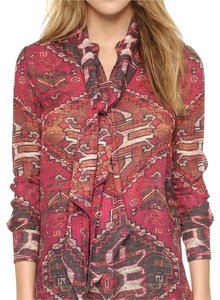 Tory Burch Top red multi