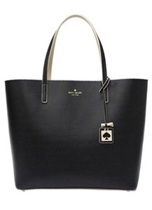 Kate Spade Leather Geniune Tote in Black