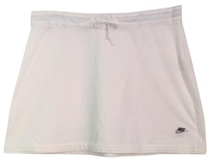 Nike White knit tennis skirt