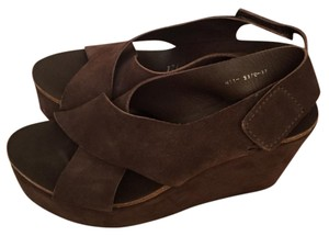 Pedro Garcia Brown Wedges