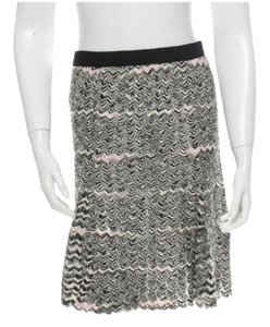 M Missoni Skirt black, white, pink