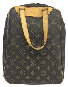 Louis Vuitton Lv Excursion Canvas Brown Monogram Travel Bag