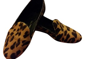 Brian Atwood Leopard Flats