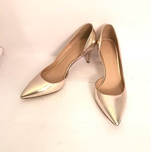 J.Crew J.Crew Gold Pointy Toe Pumps Wedding Shoes