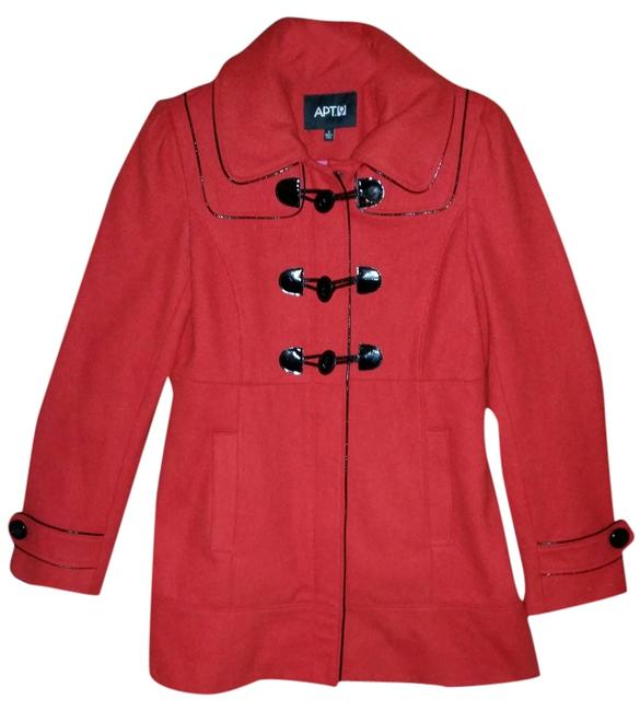 Preload https://item4.tradesy.com/images/apt-9-red-and-black-pea-coat-size-6-s-2056568-0-0.jpg?width=400&height=650