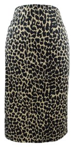 Victoria's Secret Leopard Pencil Body Skirt Leopard Print