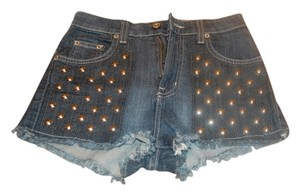 Carmar Cut Off Shorts blue jean