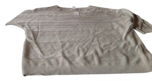 New York & Company & Co Color Good Fit Brand With Tags Short Sleeve Top Light Gray