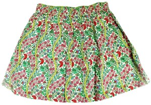 Free People Peek Girls Floral Skirt green
