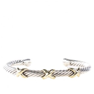David Yurman Cable Bangle Triple X Cross