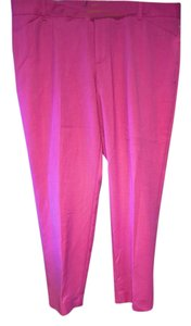 Gap Capri/Cropped Pants Pink