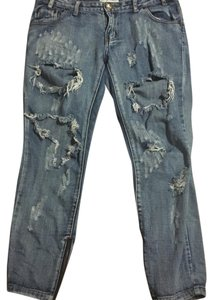 one teaspoon trashed freebird jeans Boyfriend Cut Jeans-Distressed