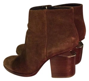 Alexander Wang Brown Suede Boots