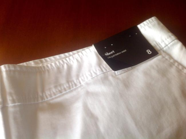 New York & Company And Co 3 Inch Inseam In Color Brand With Tags Mini/Short Shorts White