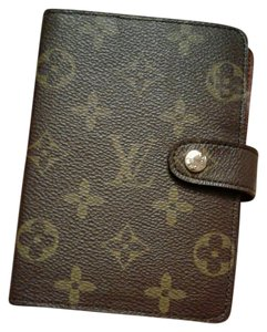 Louis Vuitton Louis Vuitton Agenda Monogram with inserts