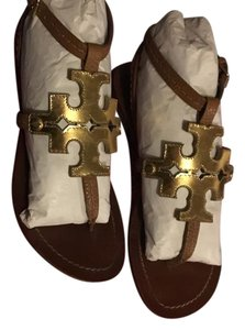Tory Burch gold/brown Sandals
