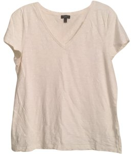 Talbots T Shirt Cream