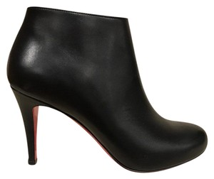 Christian Louboutin Belle Stiletto Pump Leather Black Boots