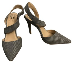 Vince Camuto Mist Gray Pumps