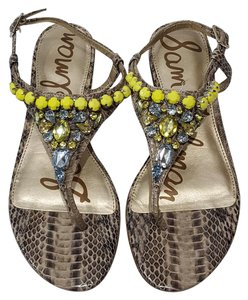 Sam Edelman Sandal Dayton Animal Print Sandals