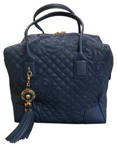 Versace Satchel in Blue