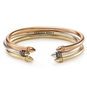 Kendra Scott Madolyn Bangle Bracelet Set In Mixed Metals