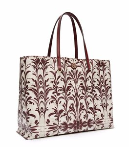 Tory Burch Leather Tote in Symphony Combo C