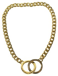 Ralph Lauren Interlocking Ring Chain Necklace
