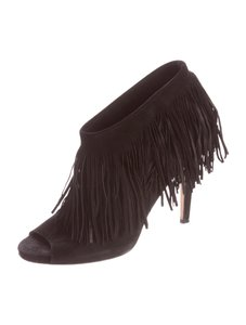 Jimmy Choo Fringe Black Boots