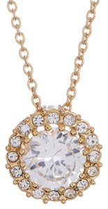 Nadri framed CZ pendant necklace
