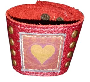 KBD Studio Applique Cuff With Grommets by KBD Studio