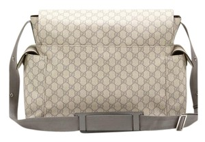Gucci Gray Diaper Bag