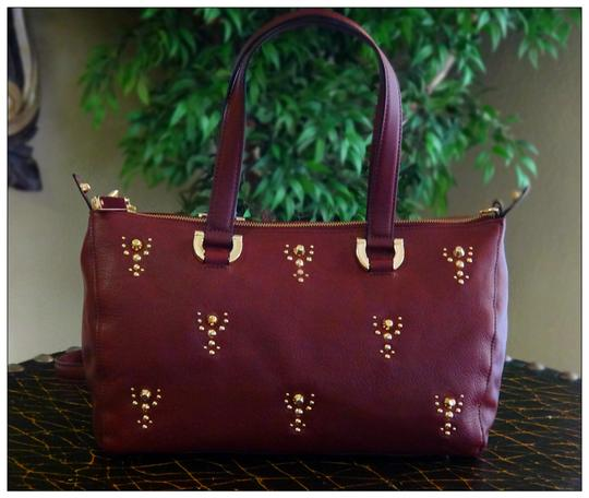 Juicy Couture Satchel in Maroon