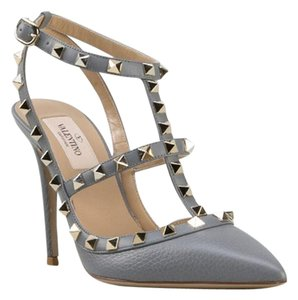 Valentino Brand New In Box GRAY Pumps