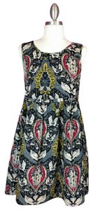 Maude short dress Blue Multi-colored Floral on Tradesy