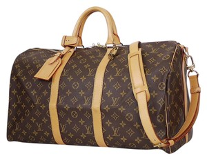 Louis Vuitton Lv Duffle Lv Luggage Luggage Cabin Carry On Brown Travel Bag