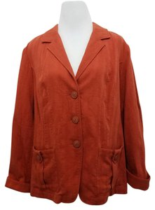 Coldwater Creek Orange Jacket